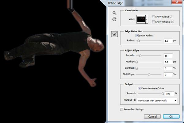 Как выделить объект в фотошопе